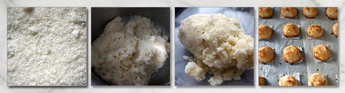 kokosmakronen stappen recept