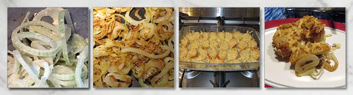 ovenschotel ui en gehakt