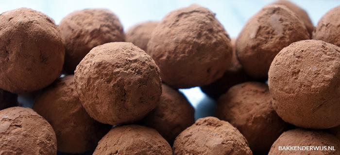 chocolade truffels van avocado