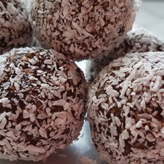 Dadelballetjes met kokos recept