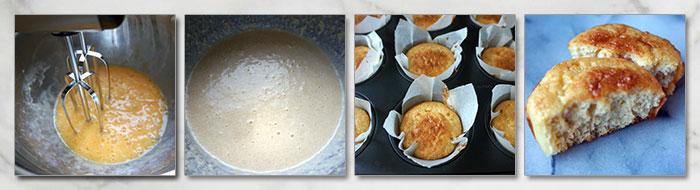 koolhydraatarme muffins stap voor stap fotoos