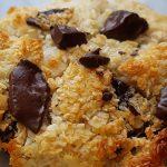 recept voor suikervrije kokoskoekjes met chocolade