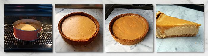 dulce de leche cheesecake stap voor stap fotoos