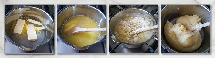 gebakken churros stap voor stap fotoos