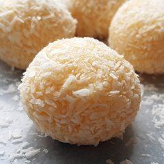 kokos truffel toffees recept