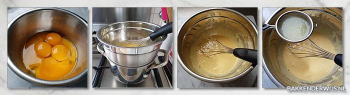 Lemoncurd stap voor stap recept deel 1
