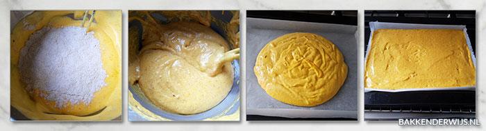 pompoen biscuitrol recept stap voor stap