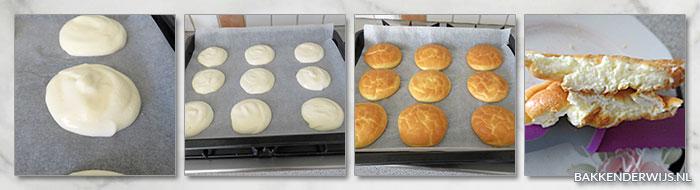 Afslank broodjes recept stap voor stap