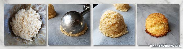kokosbollen stap voor stap foto recept