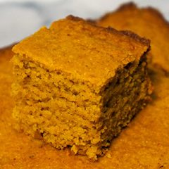 Pompoen cornbread recept