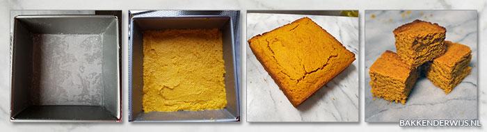 pompoen cornbread stap voor stap recept fotoos