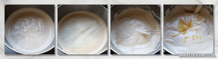 stap voor stap recept foto's tiramisutaart