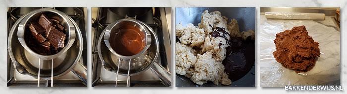 stap voor stap foto recept chocolade kipferl