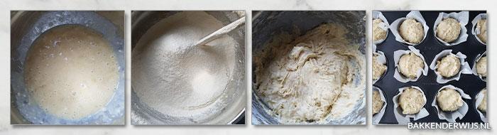 bananen muffins stap voor stap 02