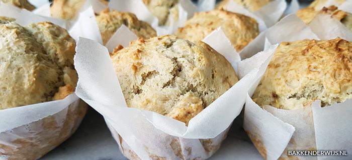 recept voor bananen muffins