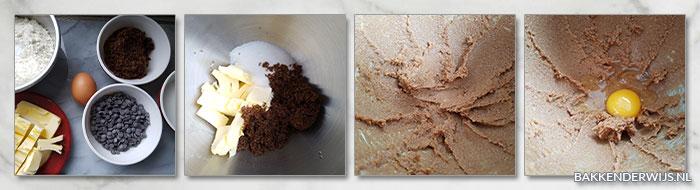 stap voor stap recept chocolate chips koekjes 01