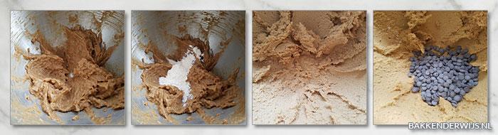 stap voor stap recept chocolate chips koekjes 02