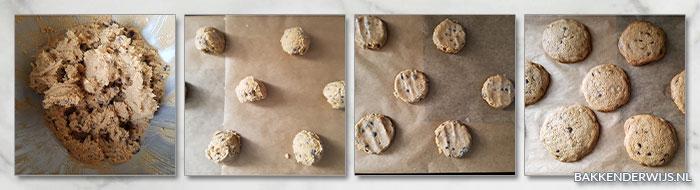 stap voor stap recept chocolate chips koekjes 03