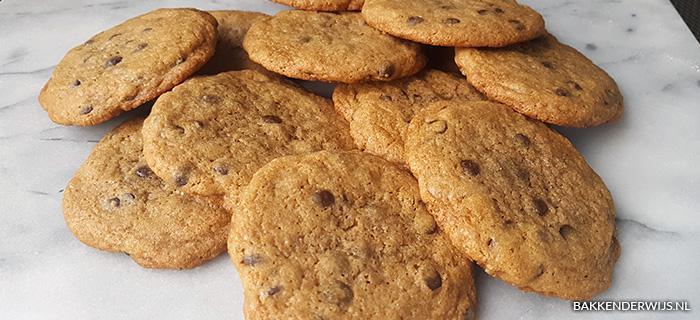 recept voor chocolate chips koekjes