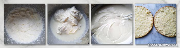 frambozen citroentaart stap voor stap recept