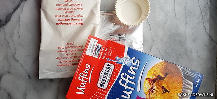 Mcennedy blueberry muffinmix inhoud