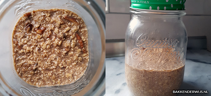 bananenbrood overnight oats recept