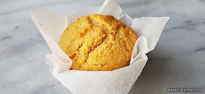 recept voor honing-kaneel cornbread muffins
