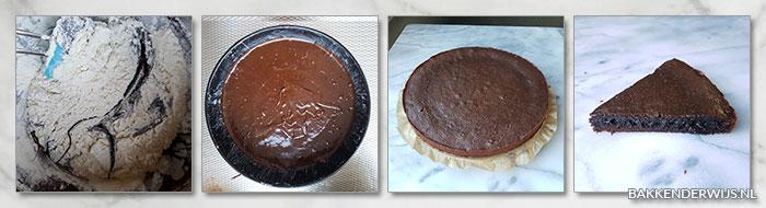kladdkaka - snelle chocoladetaart recept stap voor stap