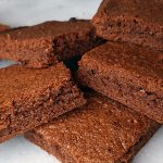 Nutella brownies recept