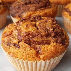 recept voor Nutella muffins