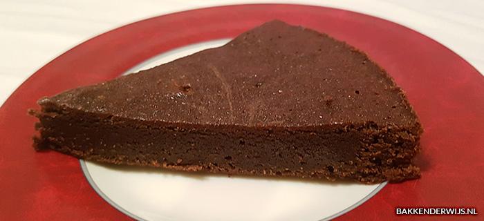 kladdkaka - chocoladetaart