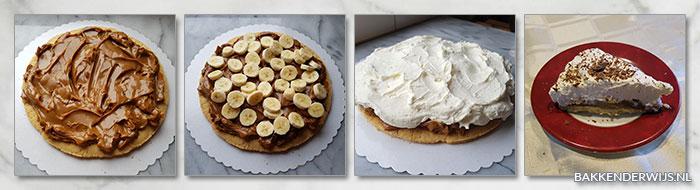 bananofee pie stap voor stap