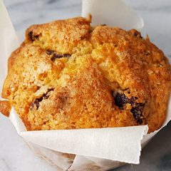 Soda brood muffins recept