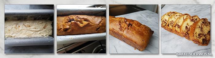 kaneel swirl quick bread stap voor stap recept