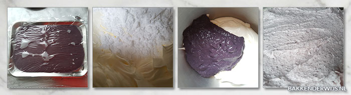 botercreme met blauwe bessen banketbakkersroom stap voor stap recept