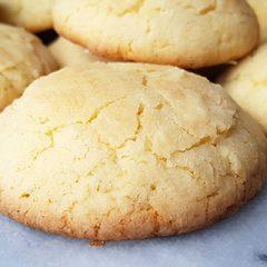 Citroen crinkle koekjes recept