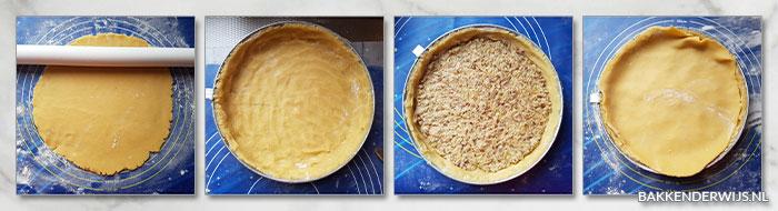 pecannoten karamelkoek stap voor stap recept