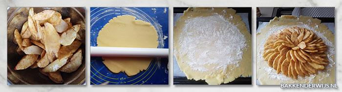 rustieke franse appeltaart stap voor stap recept