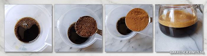 snel koffie extract stap voor stap recept