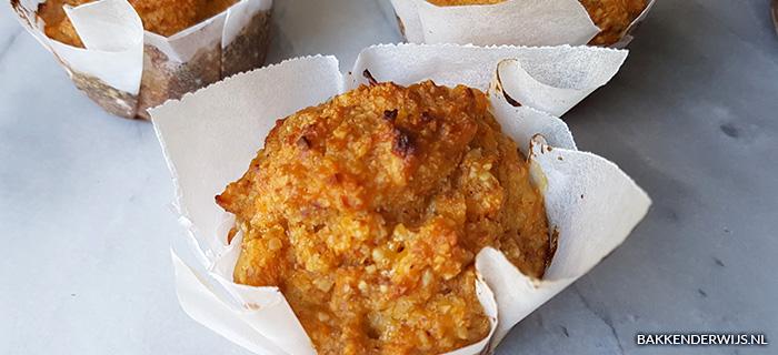 zoete aardappelmuffins recept