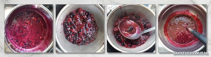 bosvruchten yoghurtijs stap voor stap recept