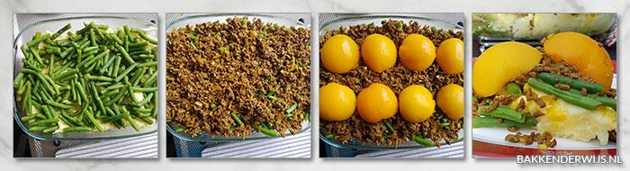 Zonnige ovenschotel stap voor stap recept