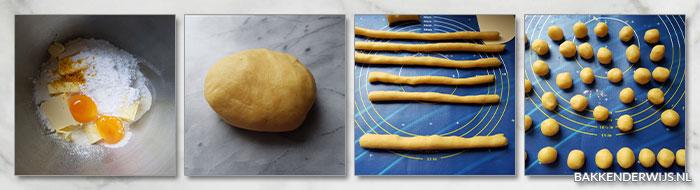 blauwe bessen surprise koekjes stap voor stap