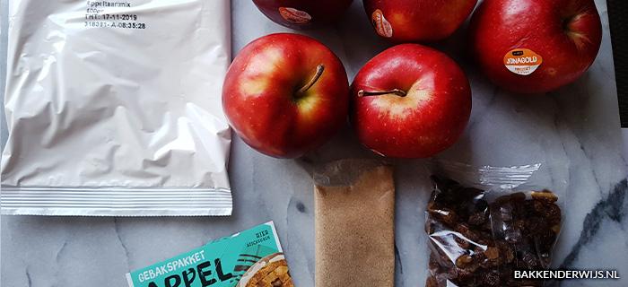 appeltaart verspakket inhoud