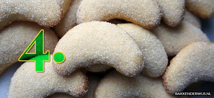 koekjes bakken met kinderen - vanille kipferl