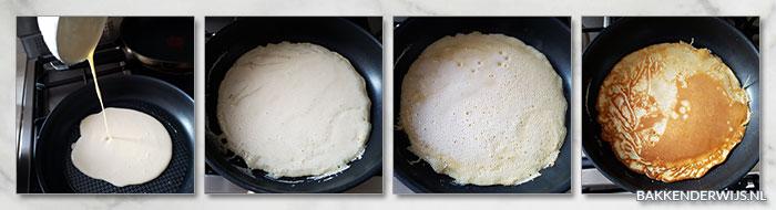 pannenkoeken stap voor stap recept