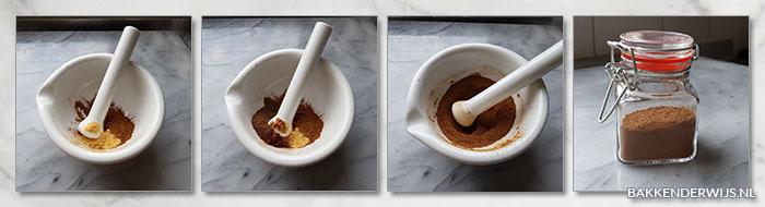 pompoenkruiden stap voor stap recept