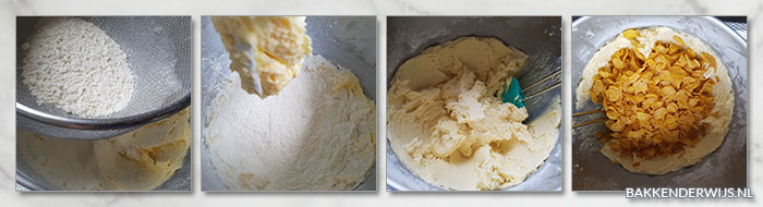 cornflakes koekjes stap voor stap recept