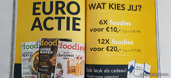 foodies december aanbieding