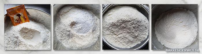 how to zelfrijzend bakmeel maken